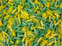 PRECIOSA Bugle 3-Green Yellow Mix - 10 g