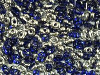 Farfalle 3.2x6.5mm Silver 1/2 Coated Cobalt - 10 g