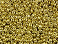 Twin 2.5x5mm Yellow Gold Terra Metallic - 50 g