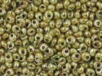 TOHO Magatama 3mm-Y183 HYBRID Opaque - Ultra Luster Green - 10 g