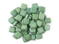 Tile 6mm Luster - Metallic Green - 20 sztuk