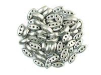 Cali Beads Matte Metallic Aluminium 3x8mm - 20 sztuk