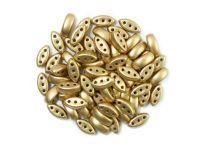 Cali Beads Matte Metallic Flax 3x8mm - 20 sztuk
