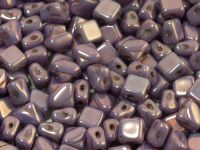 Silky Beads 5mm Luster - Metallic Amethyst - 20 sztuk