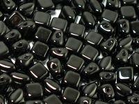 Silky Beads 5mm Jet - 20 sztuk