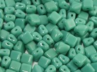 Silky Beads 5mm Opaque Turquoise - 20 sztuk