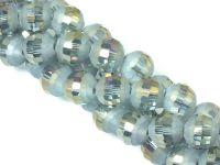 Opalizujące kule fasetowane 10 mm dymne - 10 sztuk