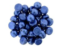 CzechMates Cabochon ColorTrends - Saturated Metallic Navy Peony 7mm - 10 sztuk