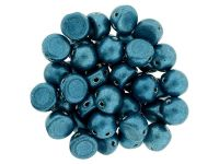 CzechMates Cabochon ColorTrends - Saturated Metallic Shaded Spruce 7mm - 10 sztuk