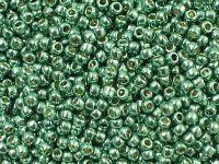 TOHO Round 11o-PF589 Permanent Finish - Galvanized Jade Green - 10 g