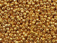 TOHO Round 11o-PF591 Permanent Finish - Galvanized Old Gold - 100 g