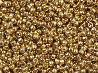 TOHO Round 11o-PF592 Permanent Finish - Galvanized Golden Fleece - 10 g