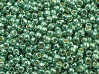 TOHO Round 8o-PF589 Permanent Finish - Galvanized Jade Green - 10 g