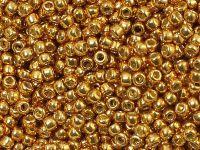 TOHO Round 8o-PF591 Permanent Finish - Galvanized Old Gold - 10 g