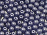 Round Beads Satin Metallic Tanzanite 4 mm - opakowanie