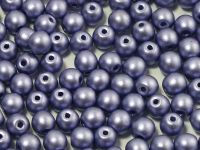 Round Beads Shine Satin Metallic Tanzanite 4 mm - opakowanie