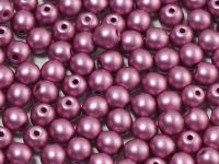 Round Beads Shine Satin Metallic Amethyst 4 mm - opakowanie