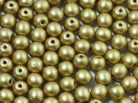 Round Beads Shine Satin Metallic Flax 4 mm - opakowanie