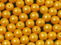 Round Beads Powdery Yellow 6 mm - 20 sztuk