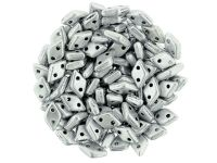 Diamond 6.5x4mm Matte Metallic Aluminium - 5 g
