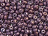 Rondelle Beads Luster - Metallic Amethyst 4x2.5mm - 5 g