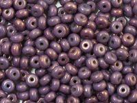 Rondelle Beads Luster - Metallic Amethyst 4x2.5mm - 5 g