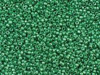PRECIOSA Rocaille 10o-Green Terra Metallic - 50 g