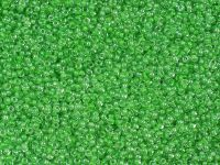 PRECIOSA Rocaille 11o-Green II-Lined Crystal - 50 g