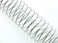 Stalowy drut pamięciowy na pierścionki - 10 żeberek