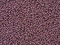 Miyuki Round 15o-4220 Duracoat Galvanized Eggplant - 5 g