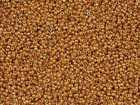 Miyuki Round 15o-4203 Duracoat Galvanized Yellow Gold - 5 g