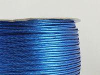 Sutasz chiński niebieski metalizowany 3mm - szpulka 50 m