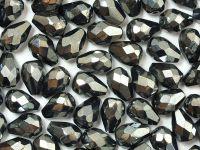 FP Pear Hematite 10x7 mm - 6 sztuk
