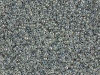 PRECIOSA Rocaille 9o-Smoke-Lined Rainbow Crystal - 50 g