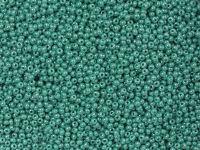 PRECIOSA Rocaille 10o-Luster Teal Alabaster - 50 g