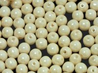 Round Beads Luster Light Cream 4 mm - opakowanie