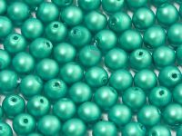 Round Beads Emerald Satin Pearl 4 mm - opakowanie