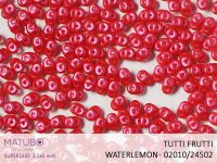 SuperDuo 2.5x5mm Tutti Frutti Watermelon - 10 g