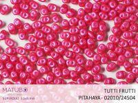 SuperDuo 2.5x5mm Tutti Frutti Pitahaya - 10 g