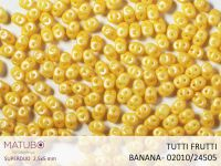 SuperDuo 2.5x5mm Tutti Frutti Banana - 10 g