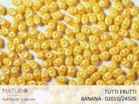 SuperDuo 2.5x5mm Tutti Frutti Banana - 10 g