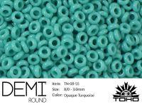TOHO Demi Round 8o-55 Opaque Turquoise - 5 g