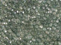 FP 3mm Luster - Transparent Green Teal - 40 sztuk