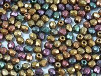 FP 3mm Matte Metallic Iris Gold - 40 sztuk