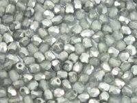 FP 3mm Silver 1/2 Matted - 40 sztuk