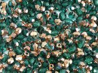 FP 3mm Copper - Emerald - 40 sztuk