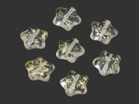 Star Beads Crystal Gold Splash 12 mm - 10 sztuk
