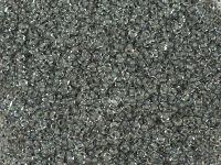 PRECIOSA Rocaille 9o-Dk Grey-Lined Crystal - 50 g