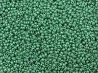 PRECIOSA Rocaille 9o-Opaque Lustered Mint Green - 50 g