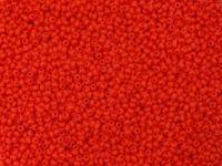 PRECIOSA Rocaille 11o-Opaque Lt Red Matte - 50 g